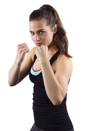 Frauen Kickboxen